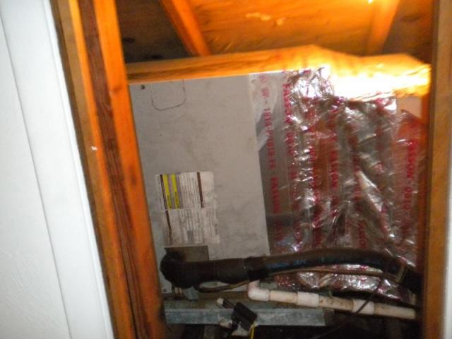 Air handler built into wall ! Marco Island, Fl.