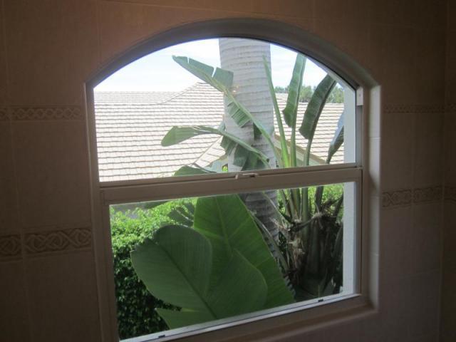 Hazard: Window in Shower