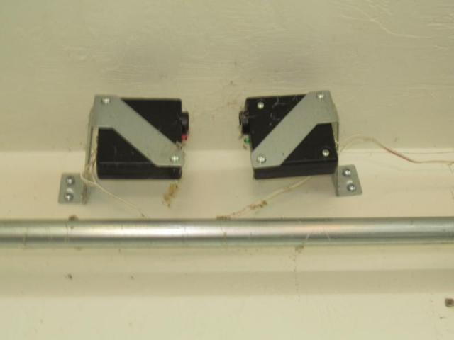 Garage safety devices - misplaced Bonita Springs, Fl.